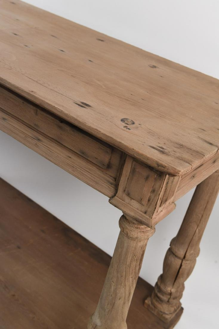 LONG PINE CONSOLE TABLE - 9