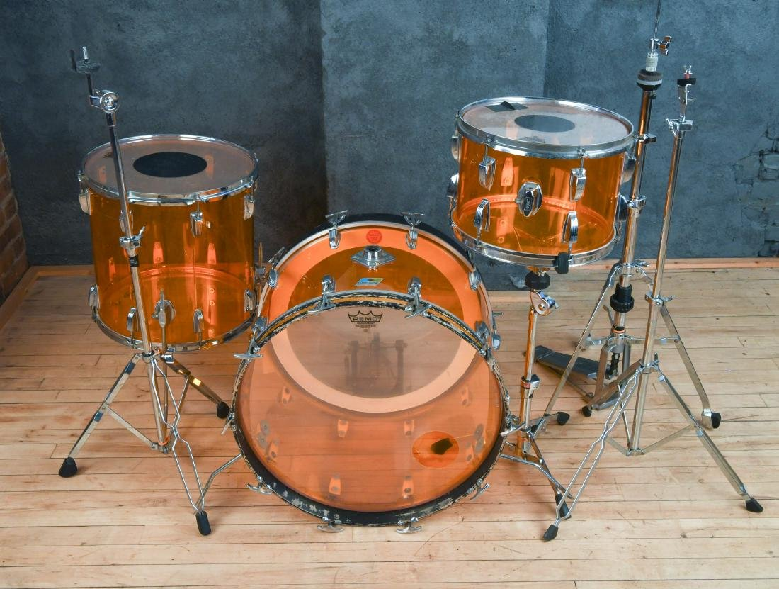 LUGWIG VISTALITE ORANGE VINTAGE DRUMS
