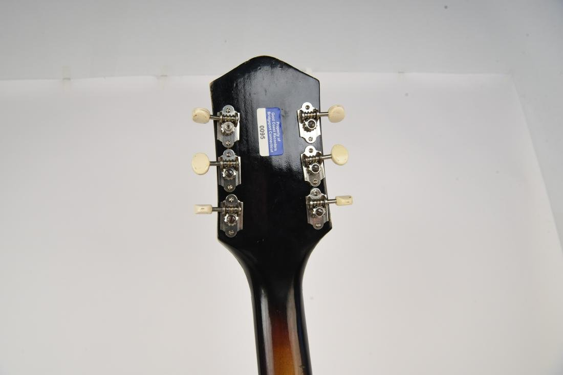 HARMONY METEOR USA HOLLOWBODY ELECTRIC GUITAR - 10