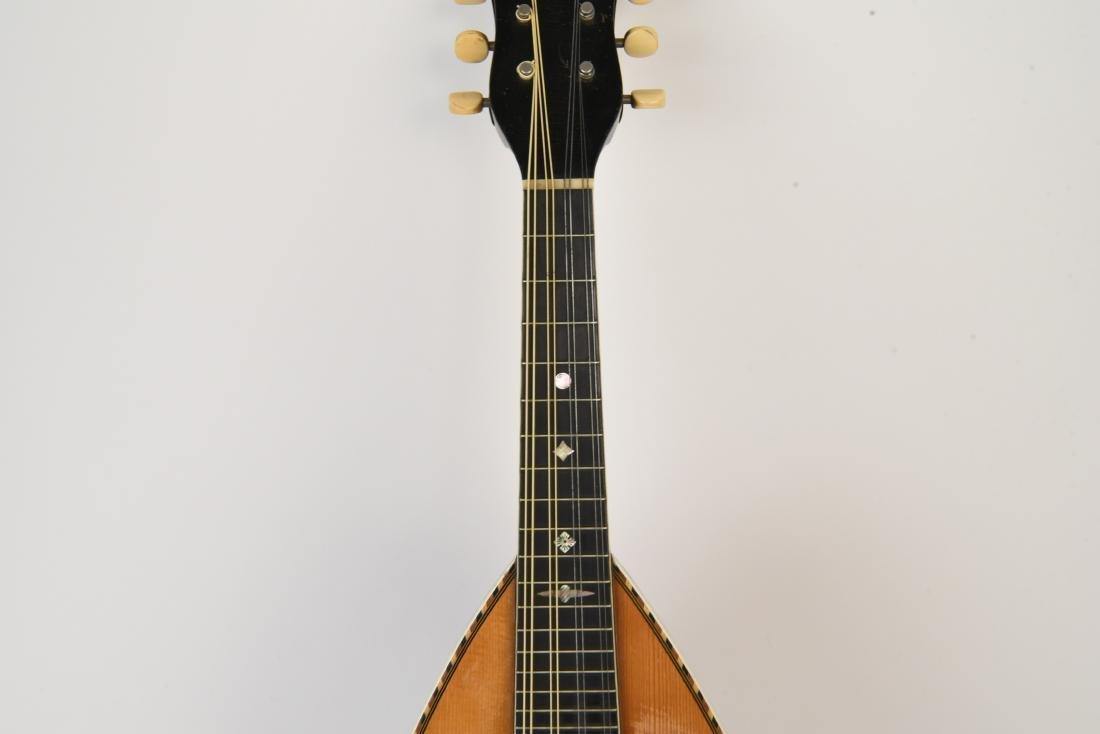1898 WASHBURN ROUNDBACK MANDOLIN - 3