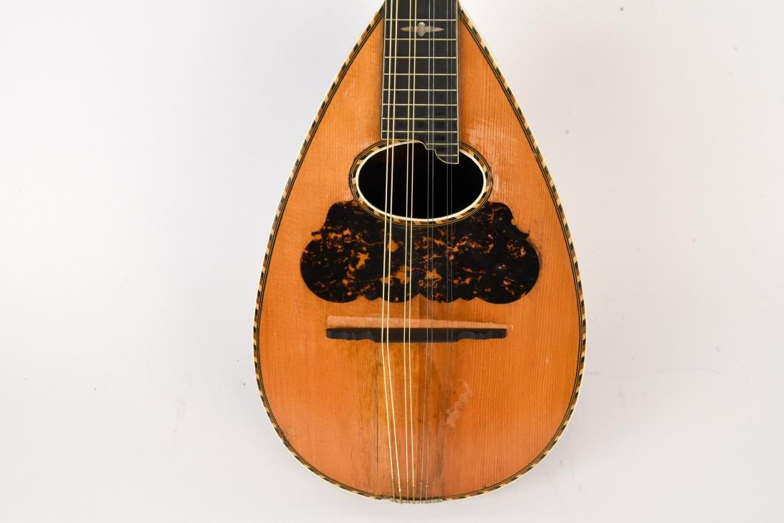 1898 WASHBURN ROUNDBACK MANDOLIN - 4