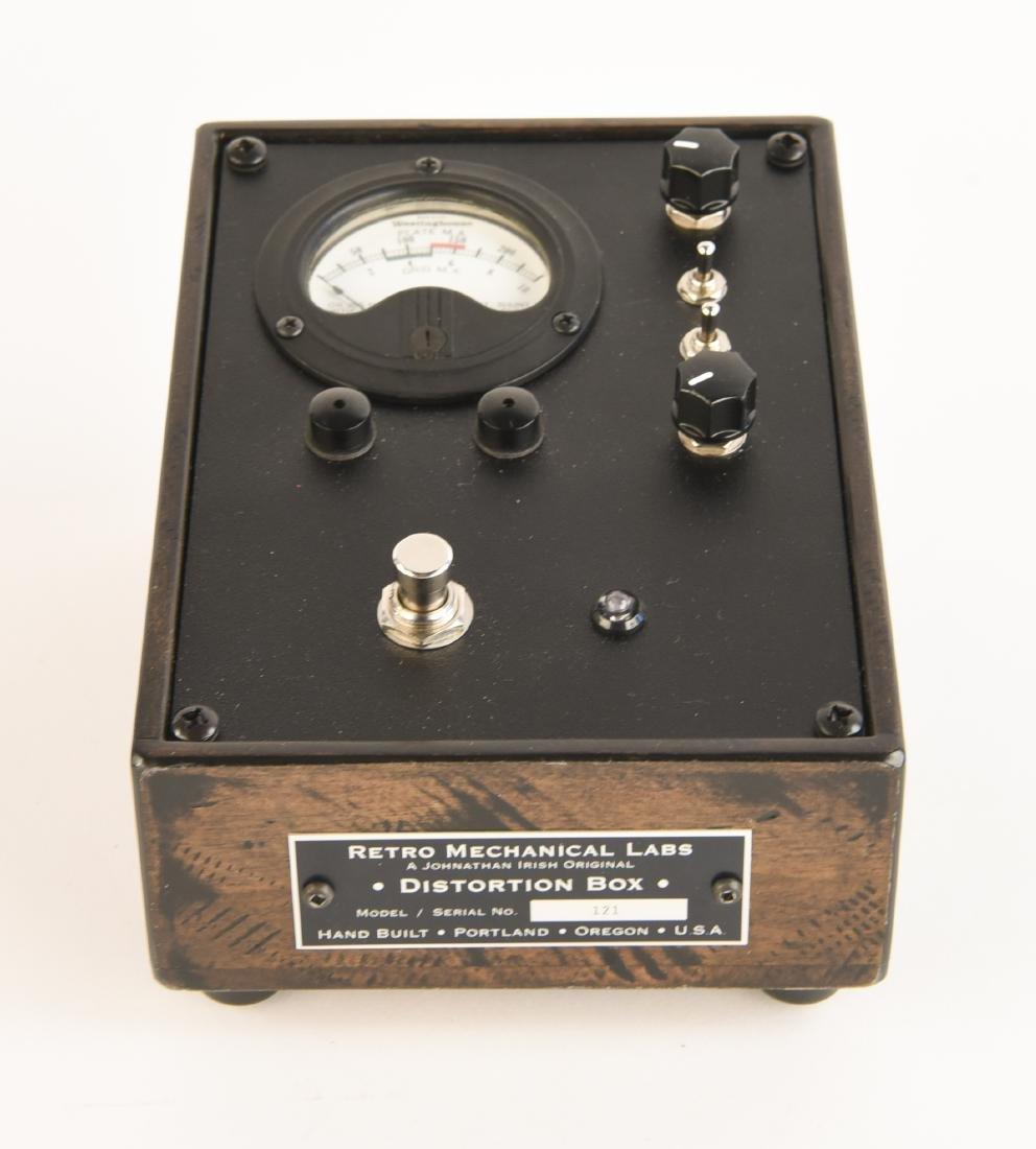 RML DISTORTION BOX GUITAR PEDAL - 3