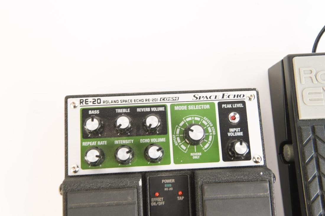 BOSS RE-20 SPACE ECHO WITH EXP PEDAL AND PS - 3