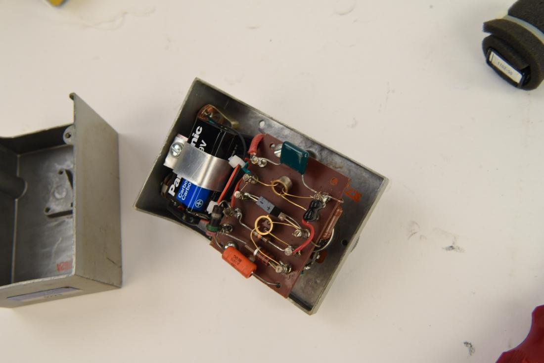 (2) HOMEMADE OVERDRIVE PEDALS - 10
