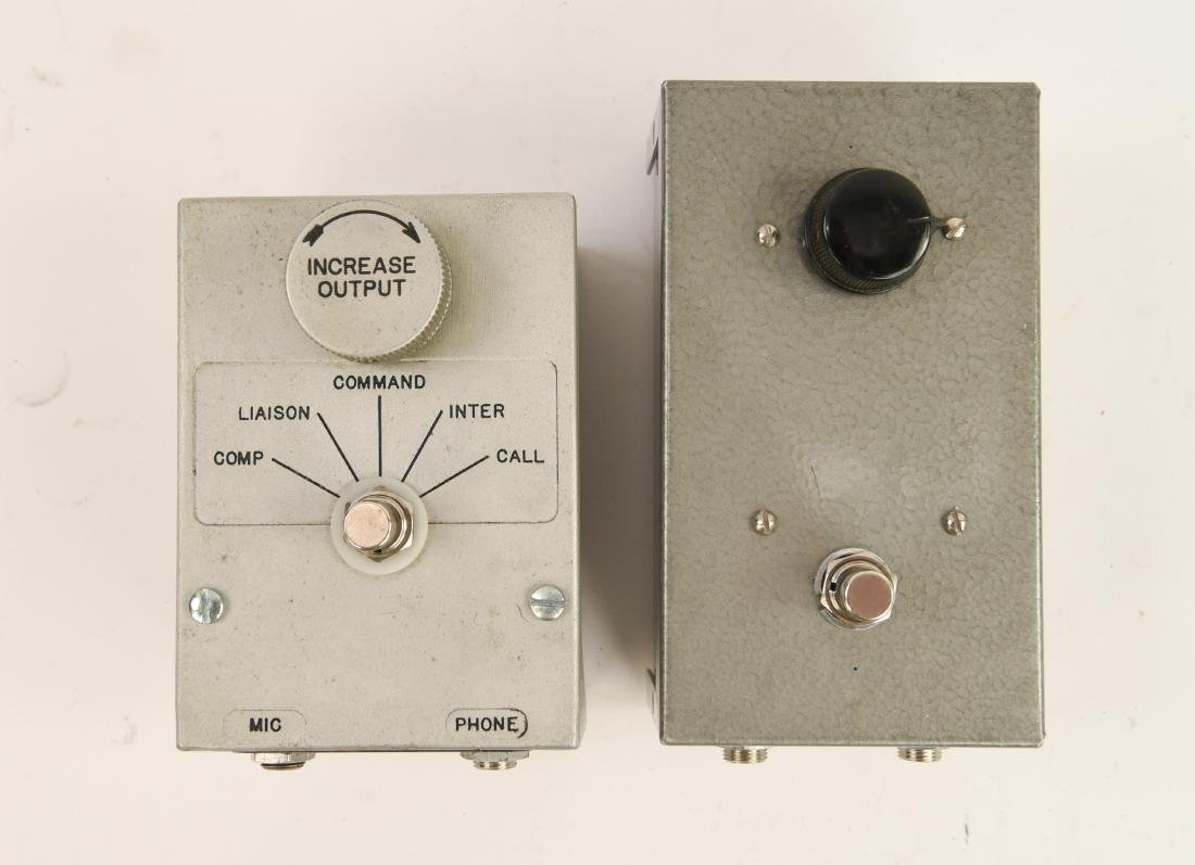 (2) HOMEMADE OVERDRIVE PEDALS