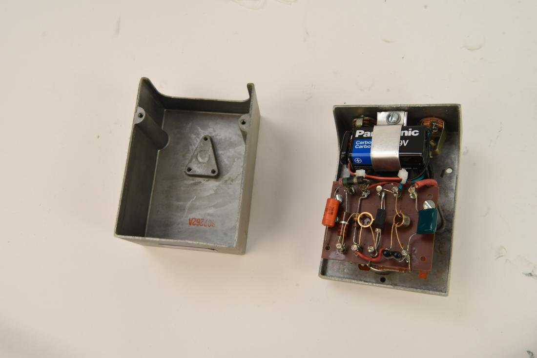 (2) HOMEMADE OVERDRIVE PEDALS - 8