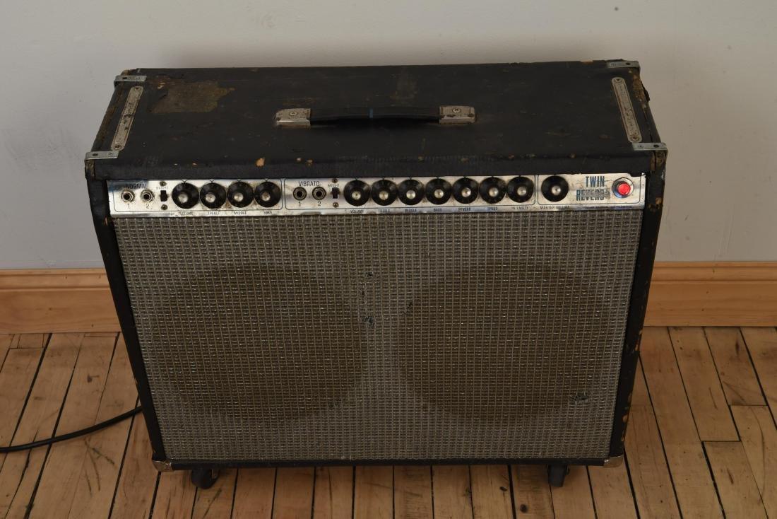 FENDER TWIN REVERB VINTAGE GUITAR AMP - 4