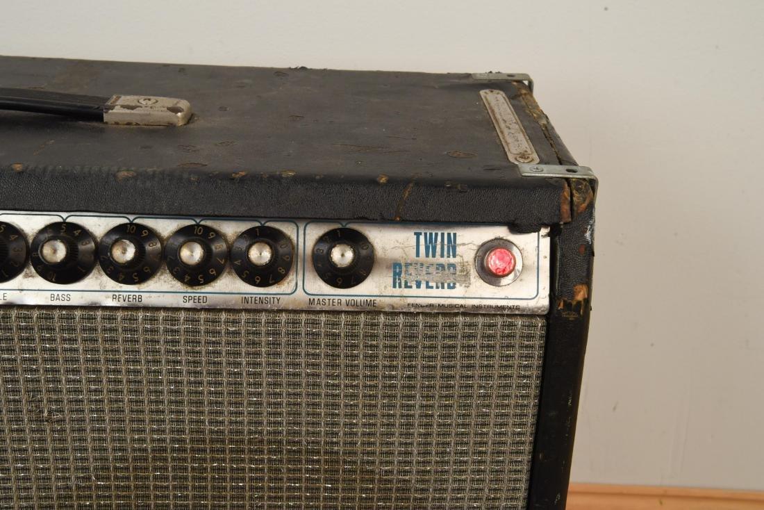 FENDER TWIN REVERB VINTAGE GUITAR AMP - 6
