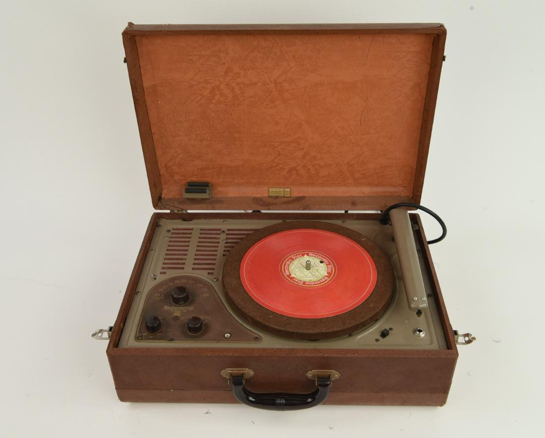 WILCOX-GAY RECORDETTE TUBE AMP