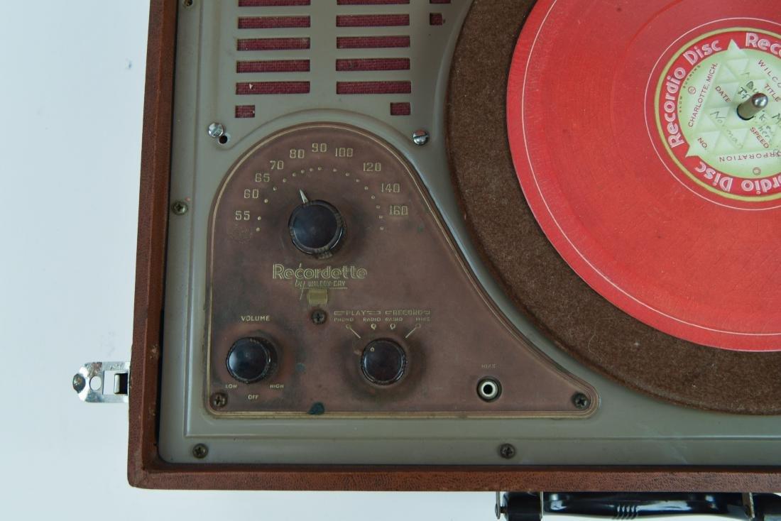 WILCOX-GAY RECORDETTE TUBE AMP - 2