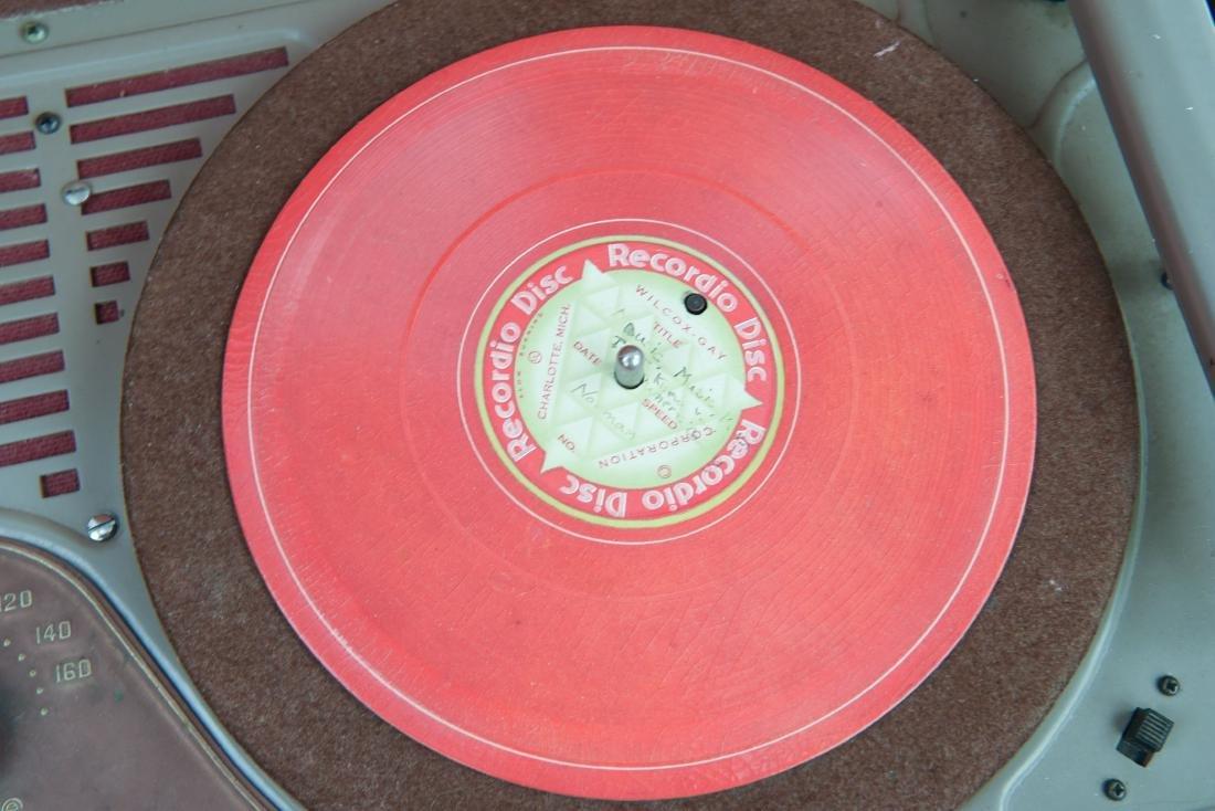 WILCOX-GAY RECORDETTE TUBE AMP - 3