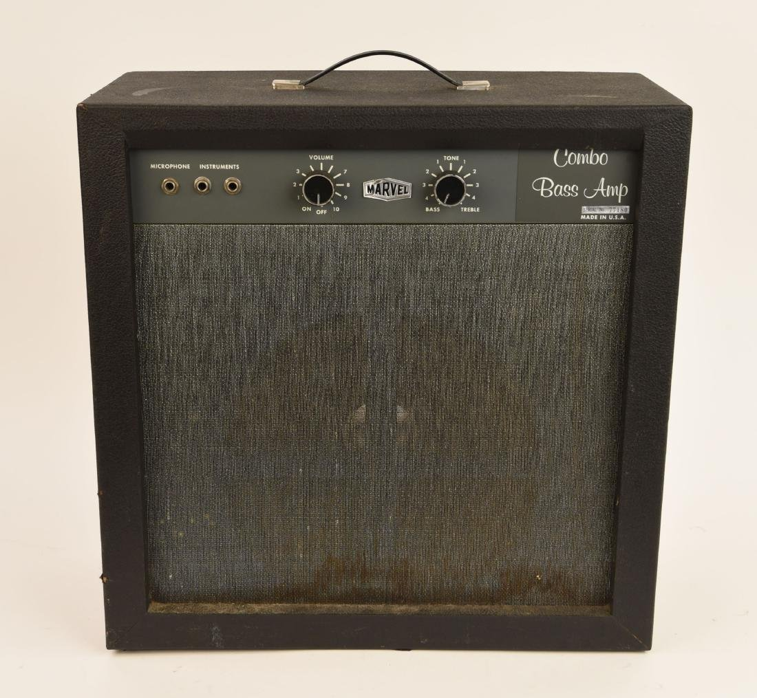 "MARVEL VINTAGE TUBE "" COMBO BASS AMP"""