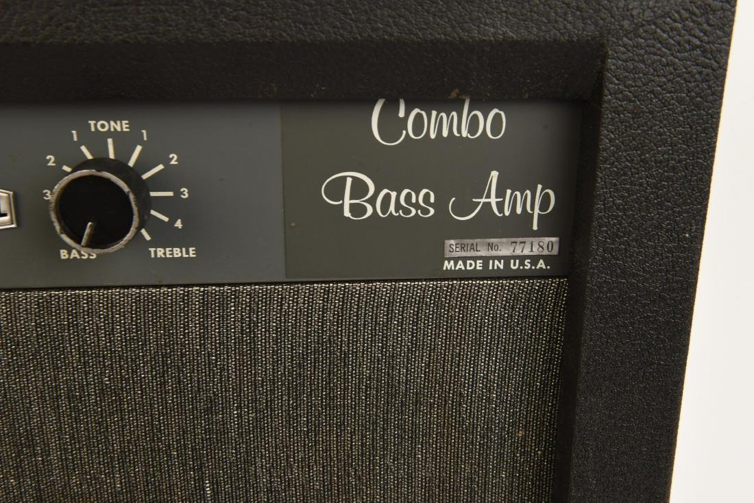 "MARVEL VINTAGE TUBE "" COMBO BASS AMP"" - 4"