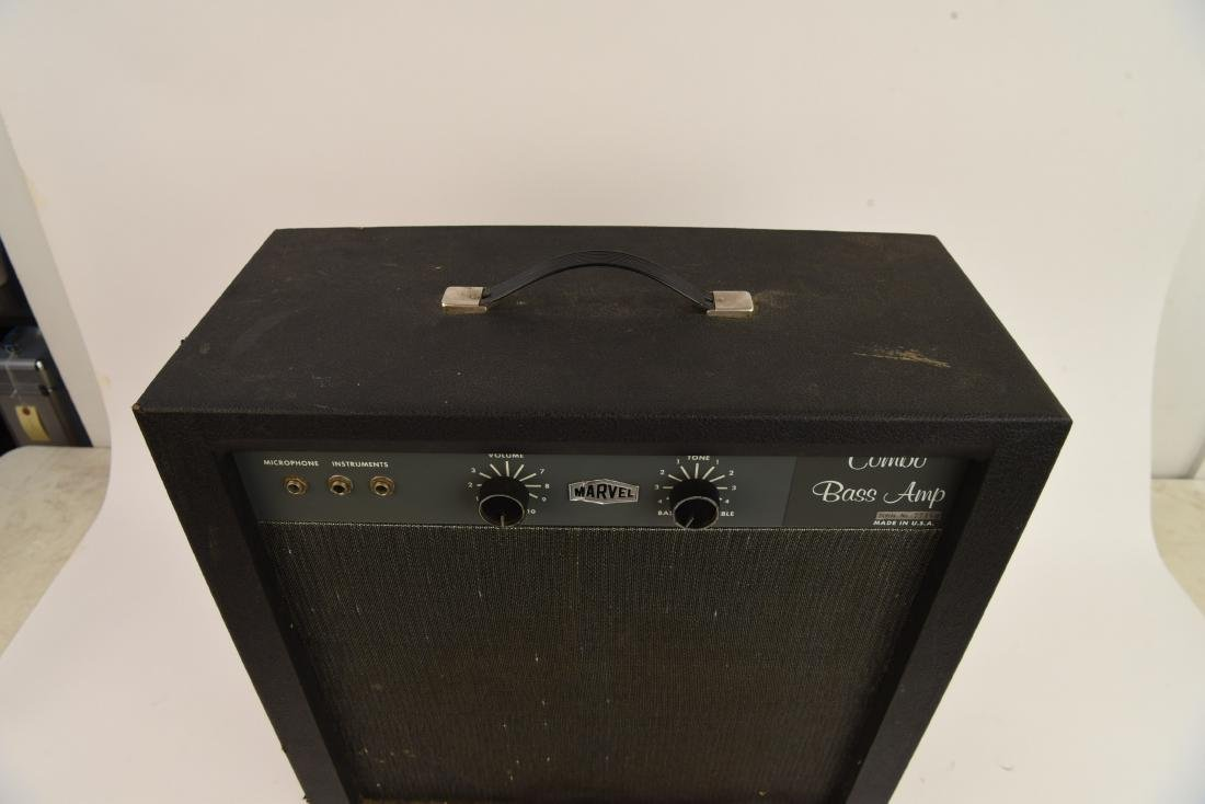 "MARVEL VINTAGE TUBE "" COMBO BASS AMP"" - 5"
