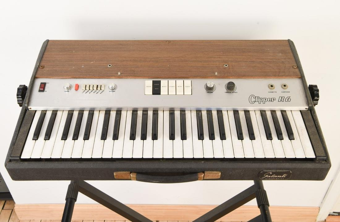 GALANTI MODEL CLIPPER R6 VINTAGE ORGAN