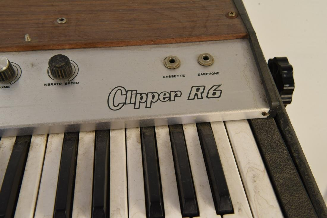 GALANTI MODEL CLIPPER R6 VINTAGE ORGAN - 2