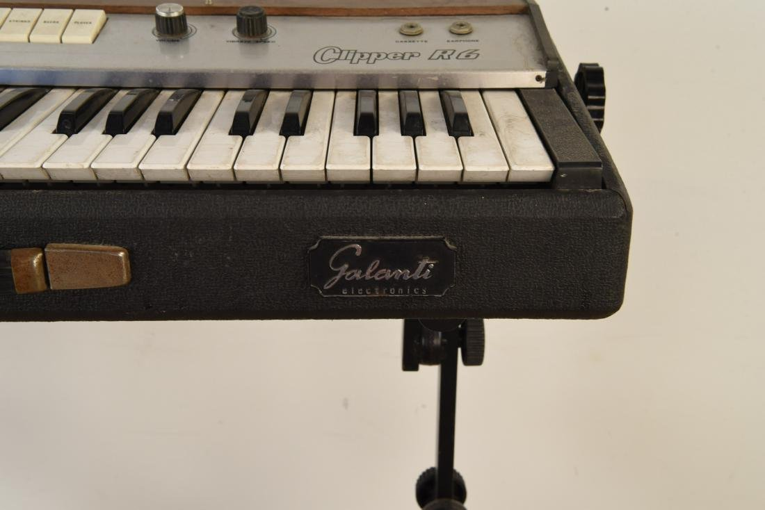 GALANTI MODEL CLIPPER R6 VINTAGE ORGAN - 6