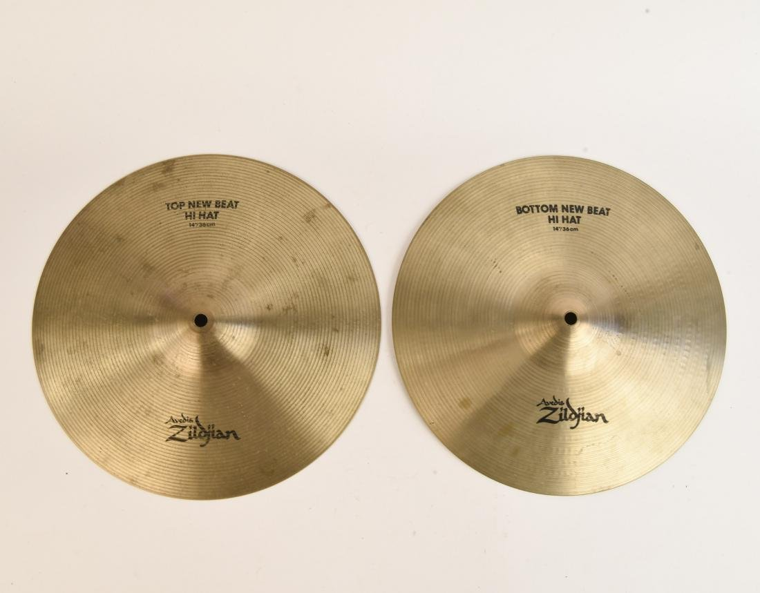 ZILDJIAN 14 INCH NEW BEAT HI HATS PAIR
