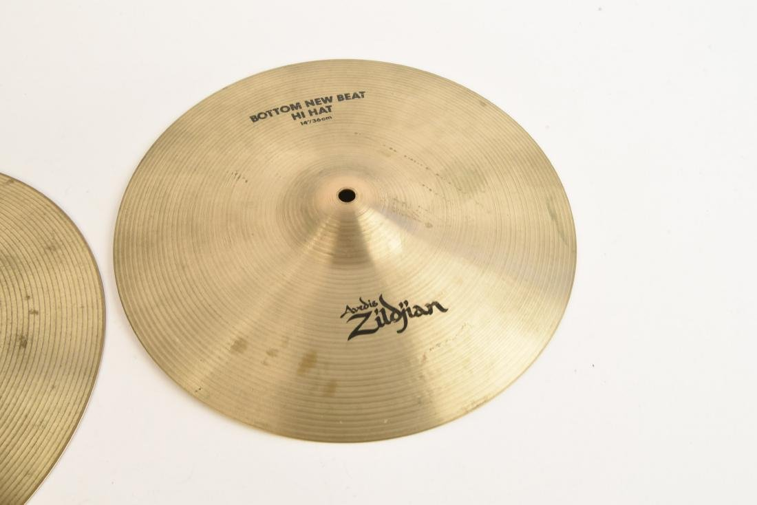 ZILDJIAN 14 INCH NEW BEAT HI HATS PAIR - 2