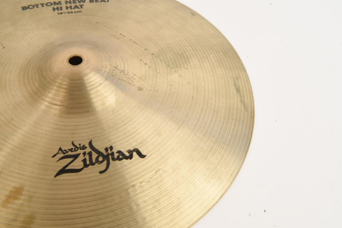 ZILDJIAN 14 INCH NEW BEAT HI HATS PAIR - 5