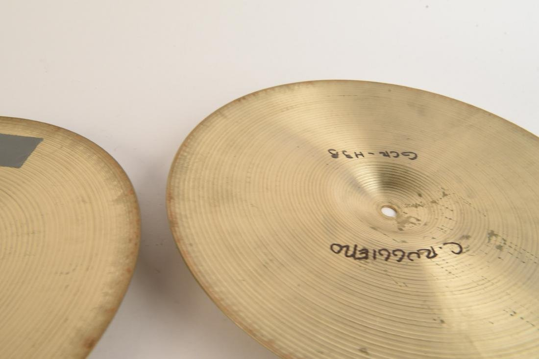 ZILDJIAN 14 INCH NEW BEAT HI HATS PAIR - 7