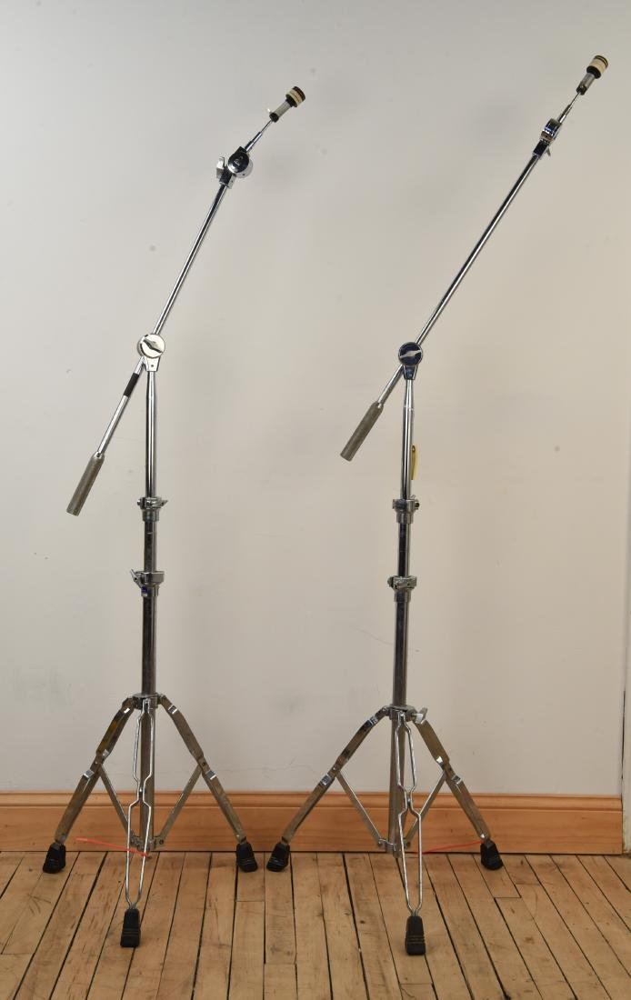PAIR PEARL SUPER HEAVY DUTY CYMBAL STANDS