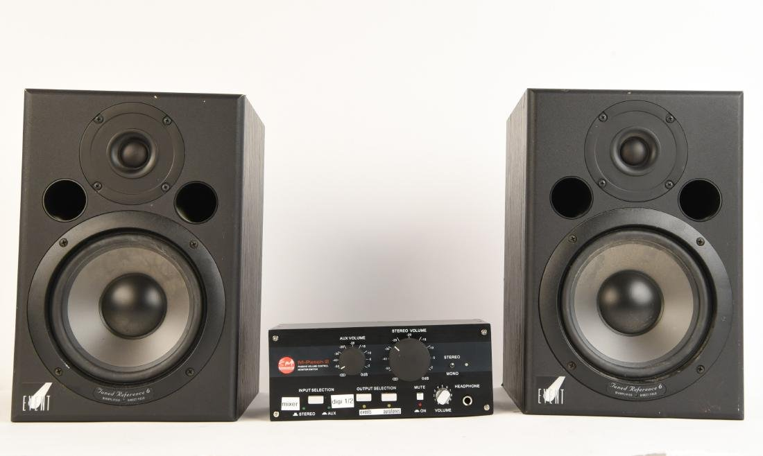 PAIR EVENT TUNED REFERENCE 6 MONITOR SPEAKERS