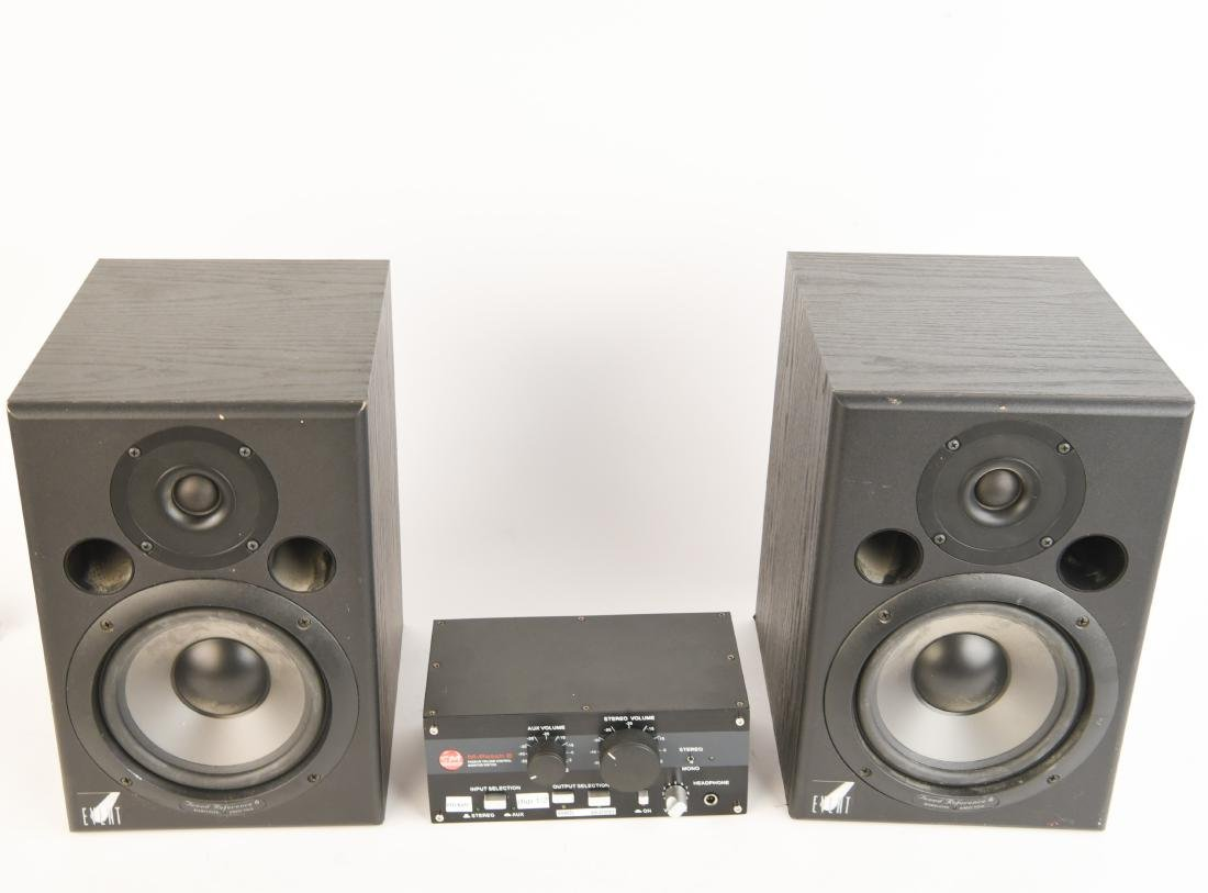 PAIR EVENT TUNED REFERENCE 6 MONITOR SPEAKERS - 2