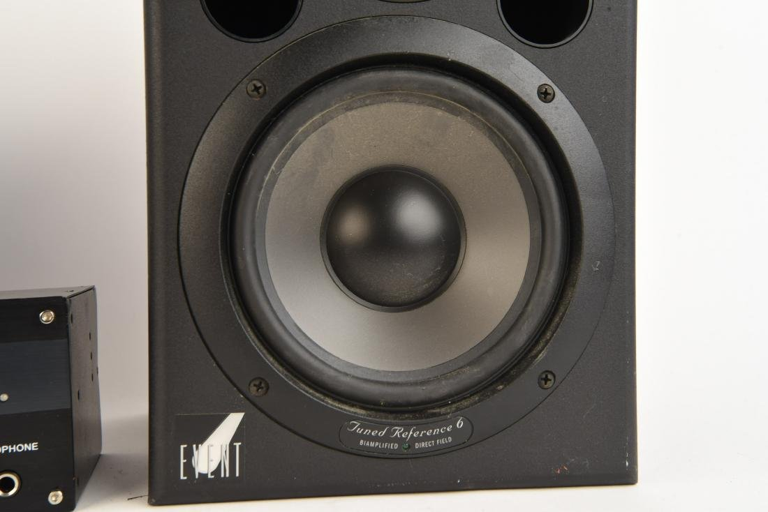 PAIR EVENT TUNED REFERENCE 6 MONITOR SPEAKERS - 4