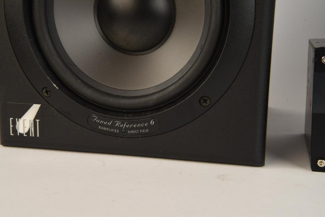 PAIR EVENT TUNED REFERENCE 6 MONITOR SPEAKERS - 5
