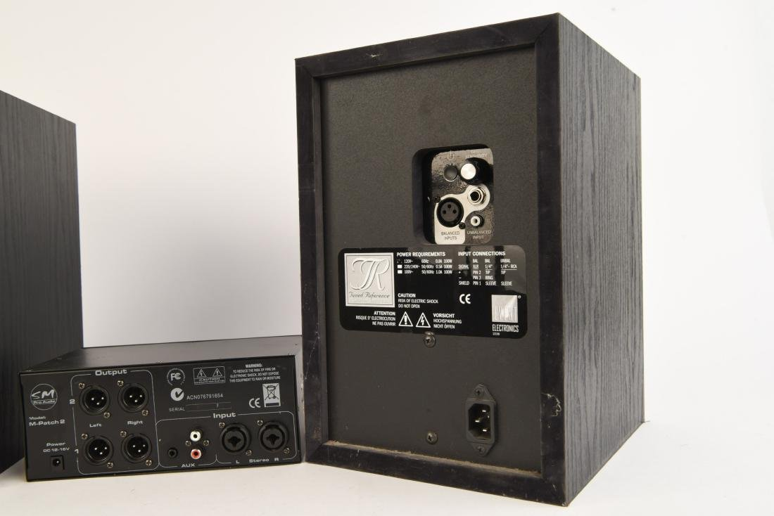 PAIR EVENT TUNED REFERENCE 6 MONITOR SPEAKERS - 9