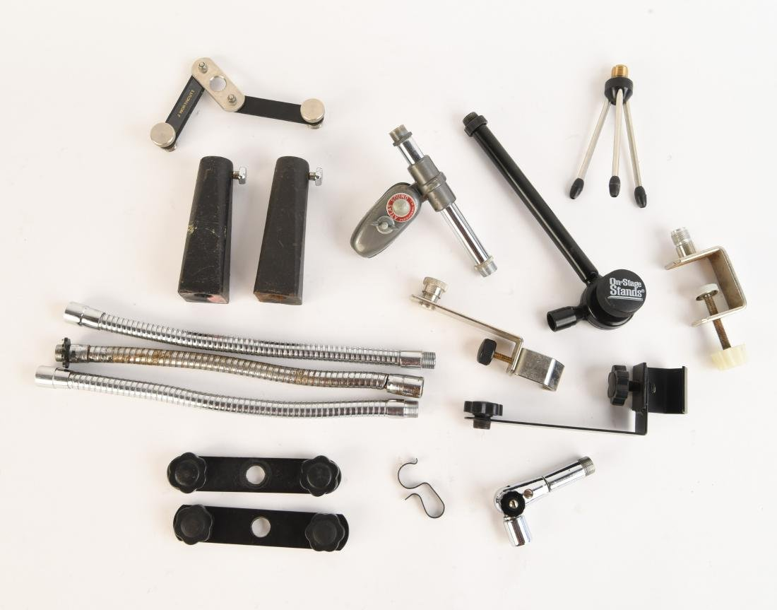 GROUPING OF MIC STAND PARTS