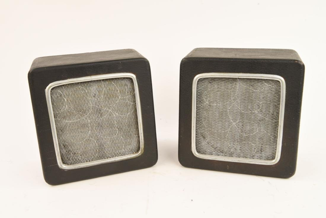 PAIR OF VINTAGE WALL SPEAKERS