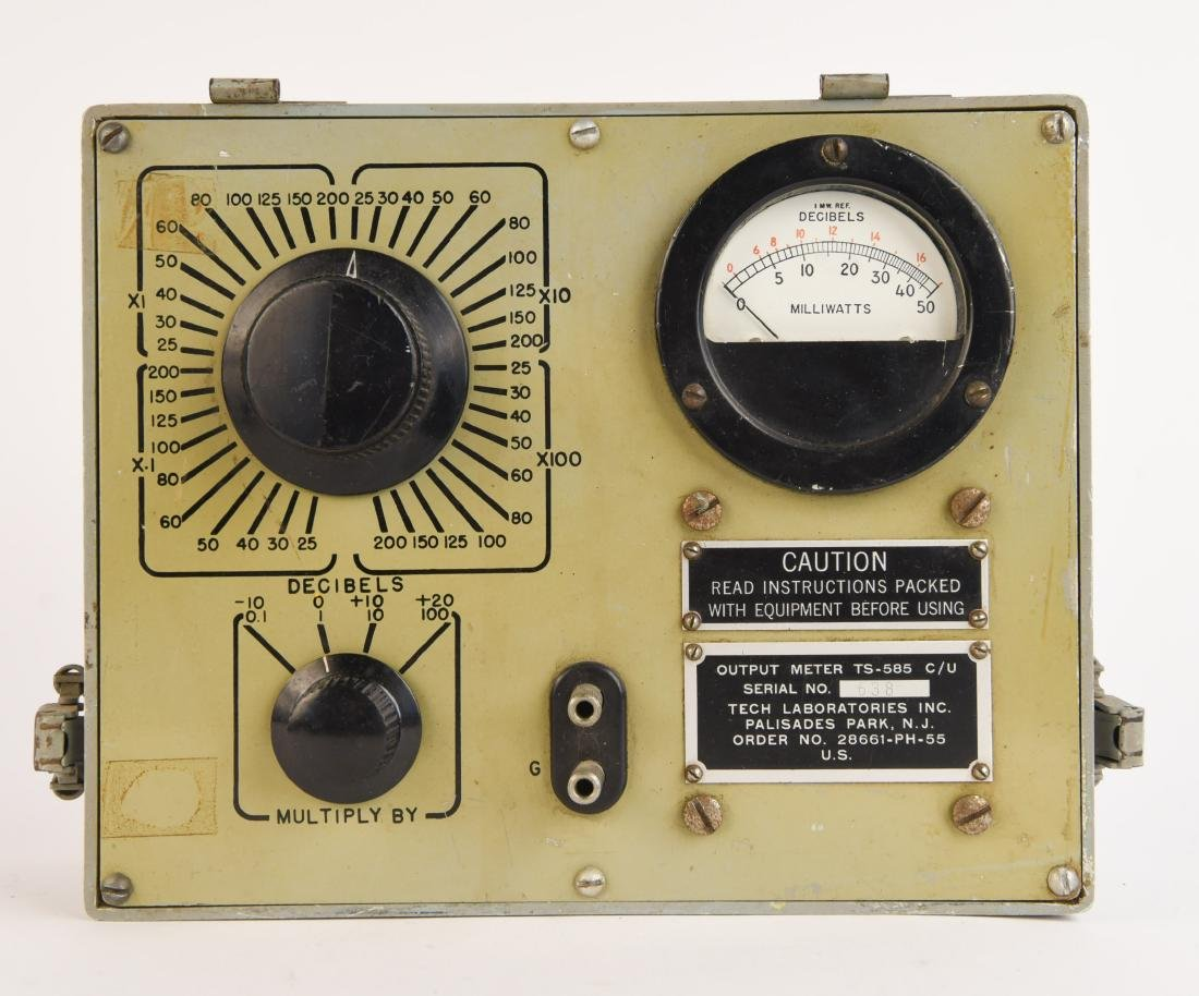 TECH LABORATORIES METER
