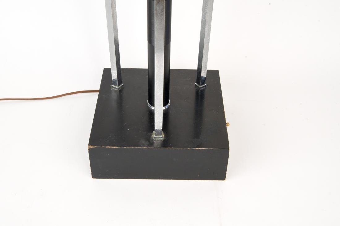 MID-CENTURY ATOMIC CHROME LAMP - 5