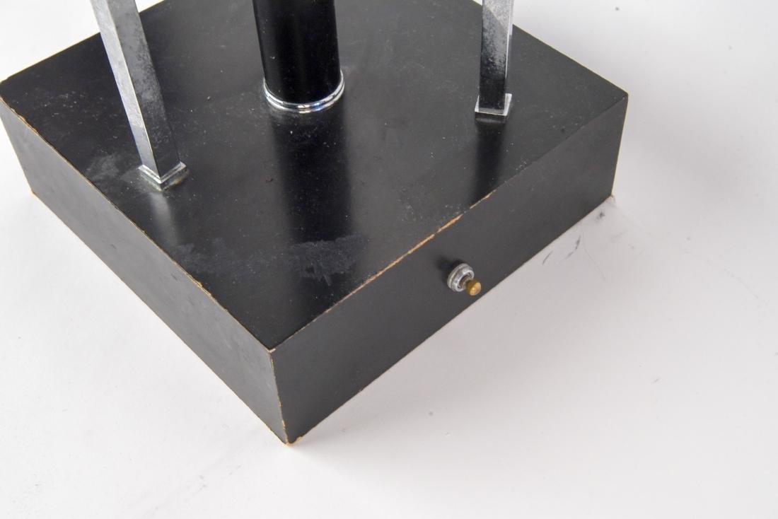 MID-CENTURY ATOMIC CHROME LAMP - 6