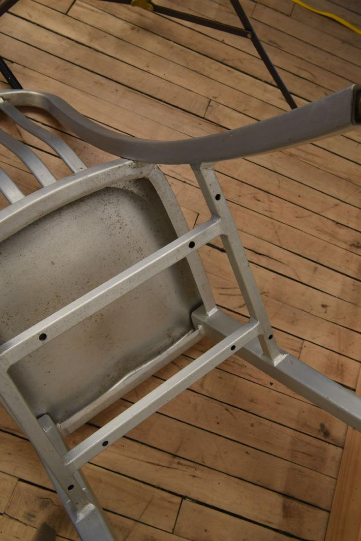 (2) ALUMINUM NAVY DECK CHAIRS - 6