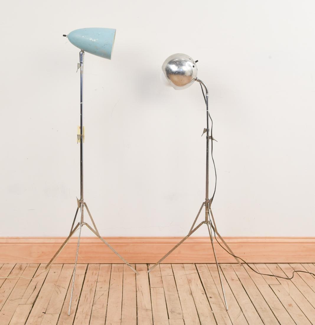 (2) TELESCOPING LAMPS