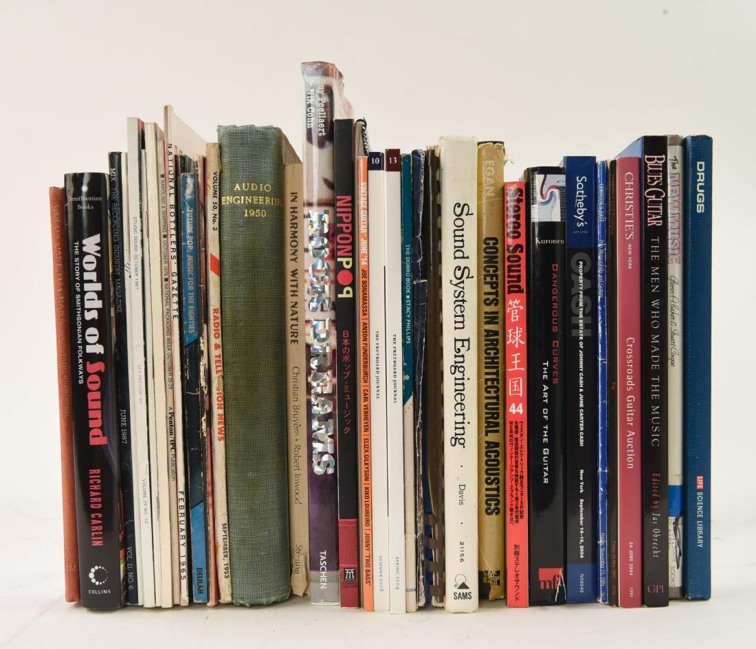 VINTAGE MUSIC & RELATED BOOKS