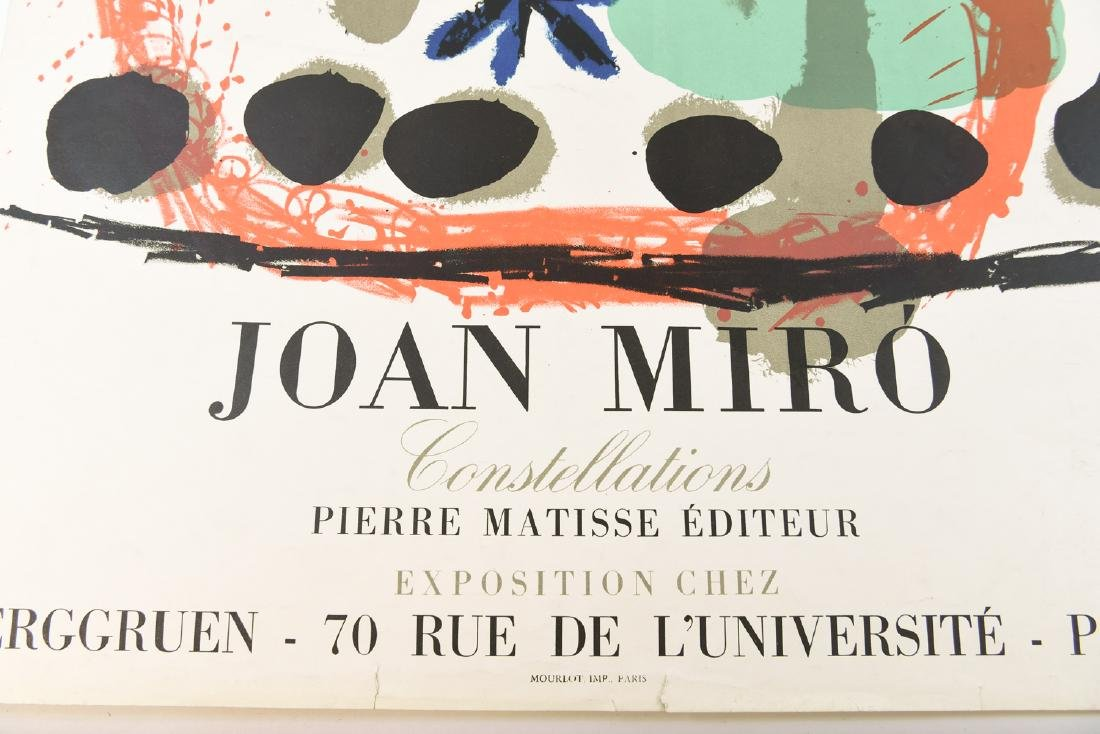 AFTER JOAN MIRO (SPAIN 1893-1983) TWO EXHIBITION - 2