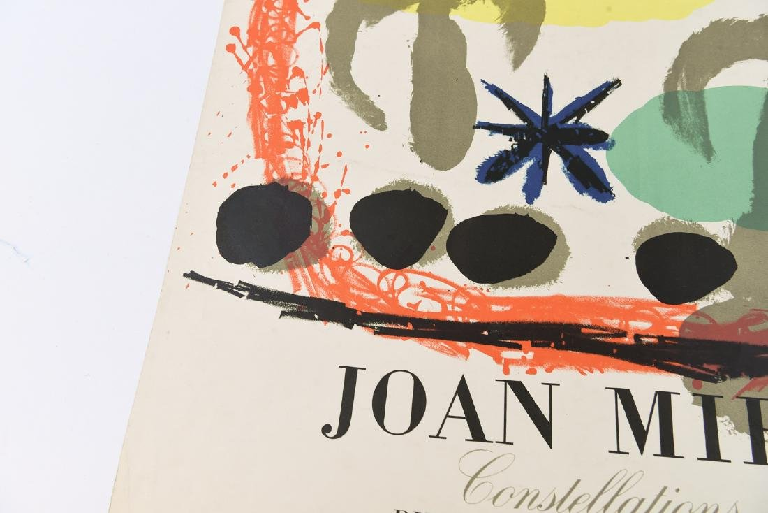 AFTER JOAN MIRO (SPAIN 1893-1983) TWO EXHIBITION - 3