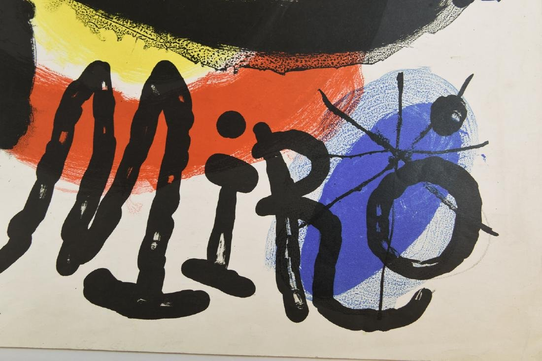 AFTER JOAN MIRO (SPAIN 1893-1983) TWO EXHIBITION - 7