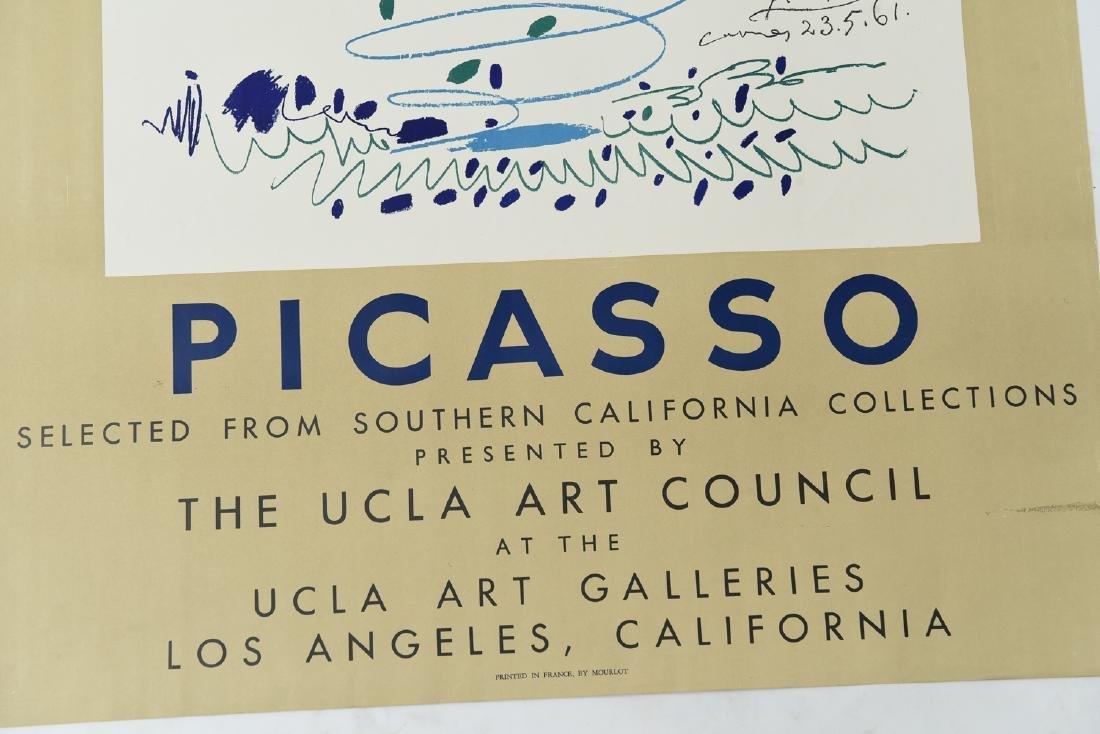 PICASSO LITHOGRAPH 1961 UCLA - 3