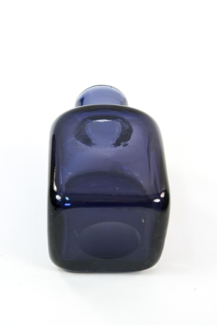 CARLO SCARPA FOR VENINI CLOSE MOUTH GLASS VASE - 4