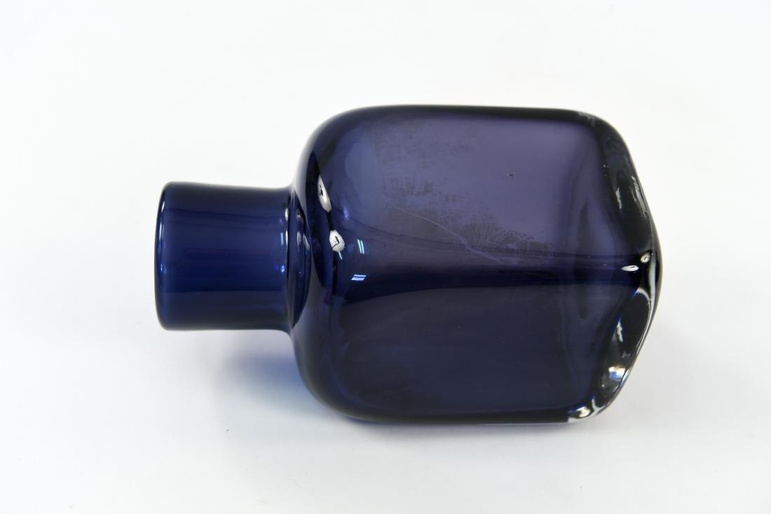 CARLO SCARPA FOR VENINI CLOSE MOUTH GLASS VASE - 5