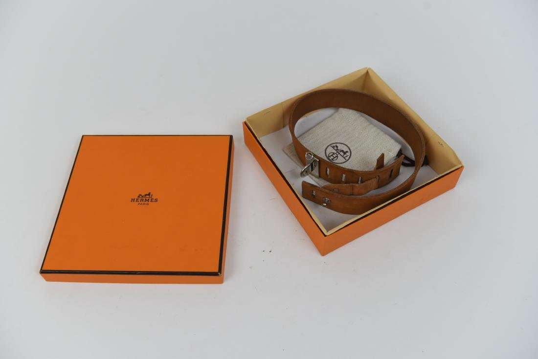 HERMES DOG COLLAR IN BOX