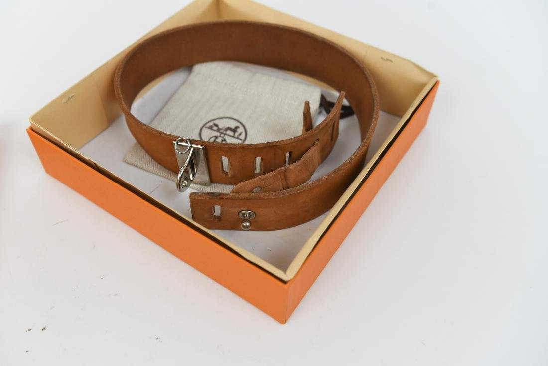 HERMES DOG COLLAR IN BOX - 2
