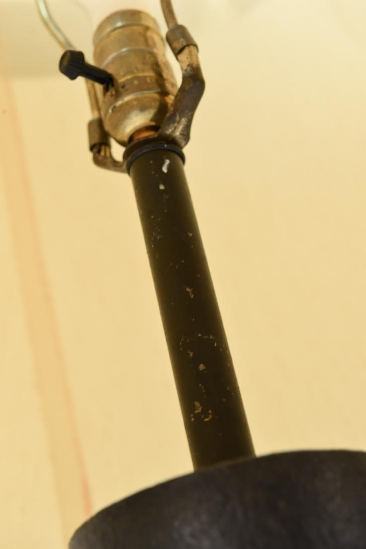 MID-CENTURY CERAMIC LAMP - 8