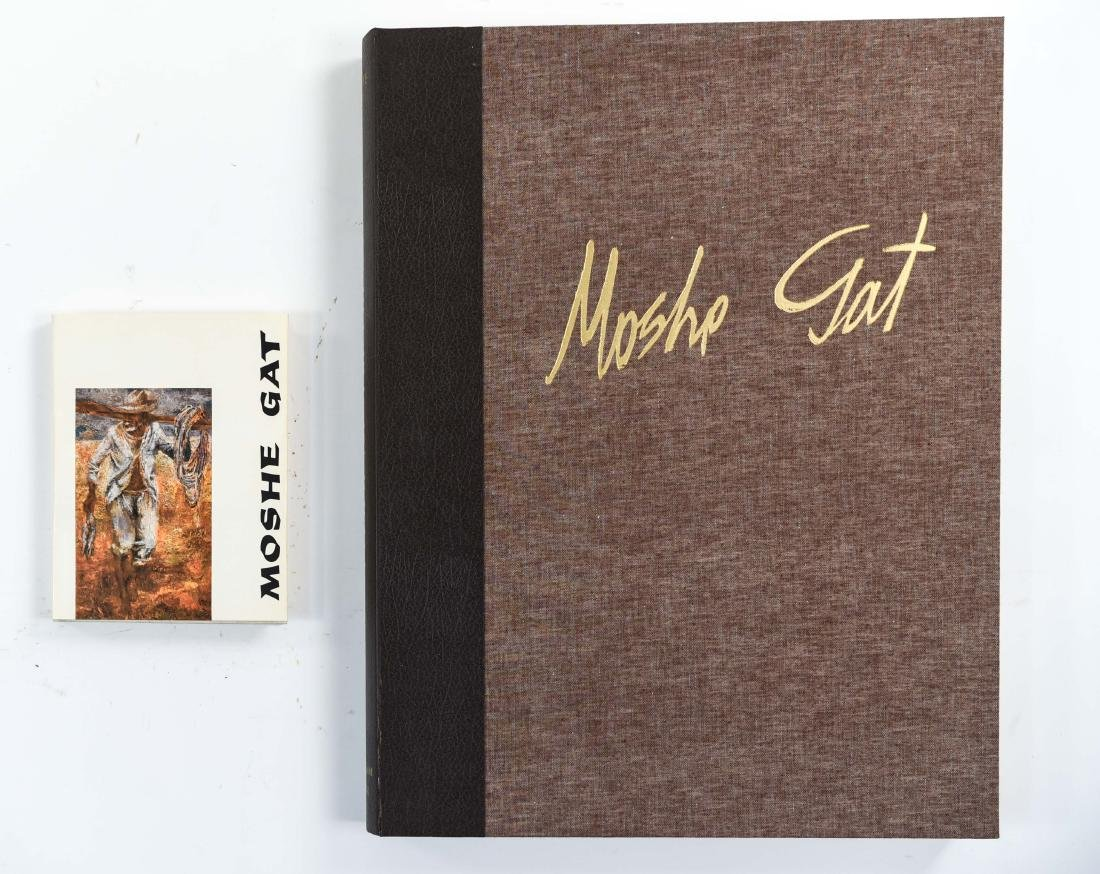 MOSHE GAT (1) BOOK & (1) PORTFOLIO