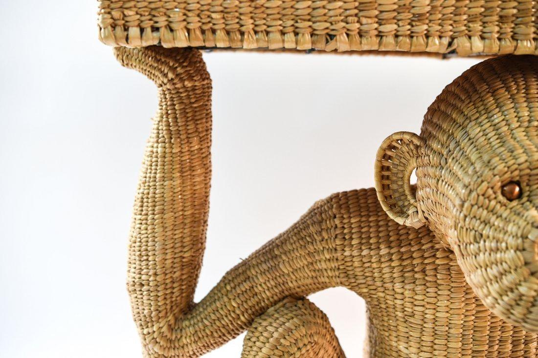 MARIO LOPEZ TORRES WICKER TABLE - 7